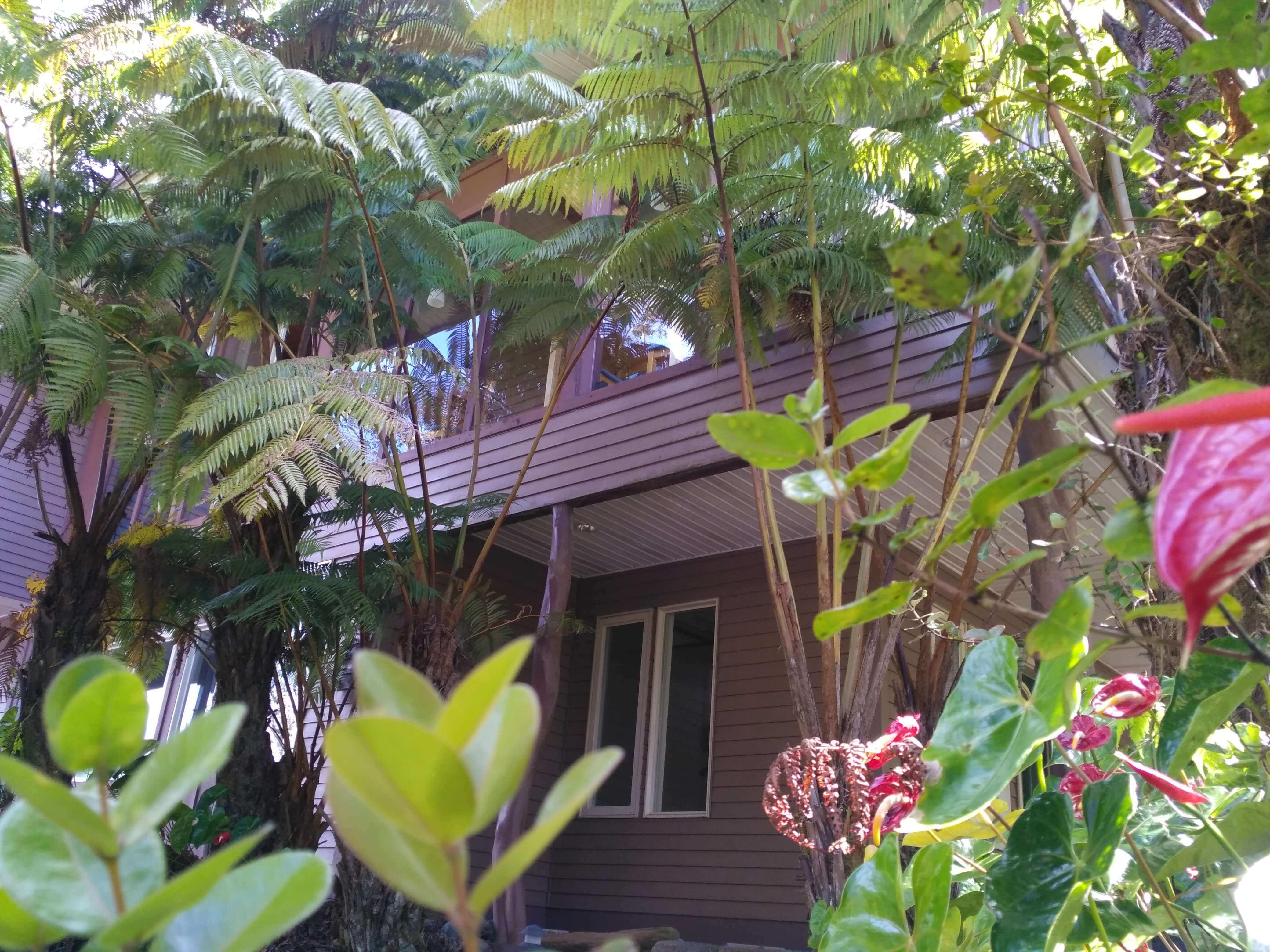Kilauea hotel-volcano inn - building outside 1