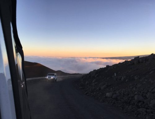 Sunrise or Sunset In Heaven: Mauna Kea Summit Sunset