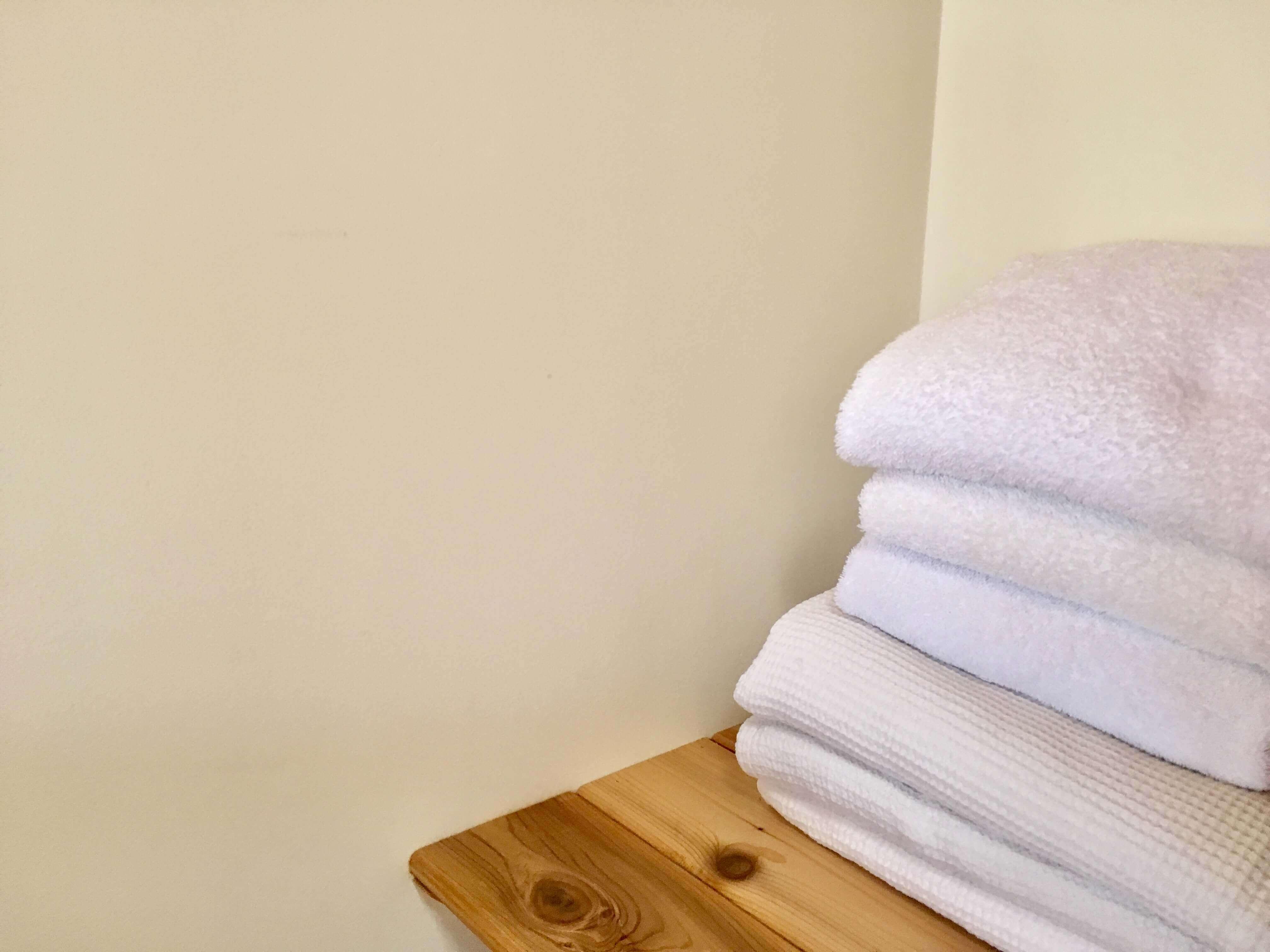 volcano lodge- volcano inn - koa towel