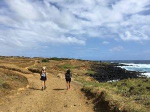 green sand beach trail